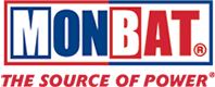 Логотип (эмблема, знак) аккумуляторов марки Monbat «Монбат»