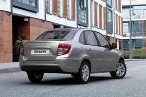 Фото легковых автомобилей марки LADA «Лада» (LADA Granta sedan «Лада Гранта седан»)