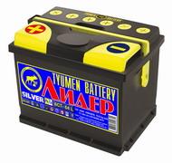 Фото аккумуляторов марки «Лидер» / Lider (Лидер 6СТ-64L Silver)